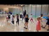 Детская группа ГИМНАСТИКИ, АКРОБАТИКИ и СОВРЕМЕННОЙ ХОРЕОГРАФИИ в школе танца Феерия