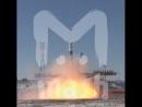 """С Байконура удачно стартовала ракета-носитель """"Союз"""" с тремя космонавтами на борту"""