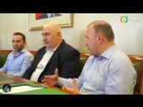Встреча с Главой республики Адыгея Кумпиловым Муратом. Мурат Каральбиевич поддержал нашу идею!!!СУПЕР КУБОК РОССИИ ПО ММА в 201