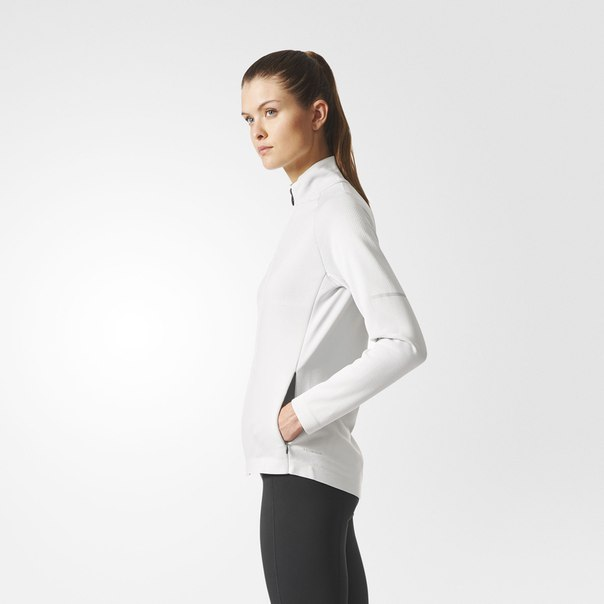 Куртка для бега Climaheat Primeknit Hybrid