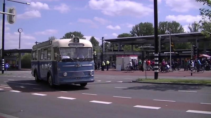 Dordt in Stoom 2012: Die Oldtimerbusse / De Veteraan Bussen