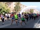 7000 альметьевцев вышли на беговую дорожку