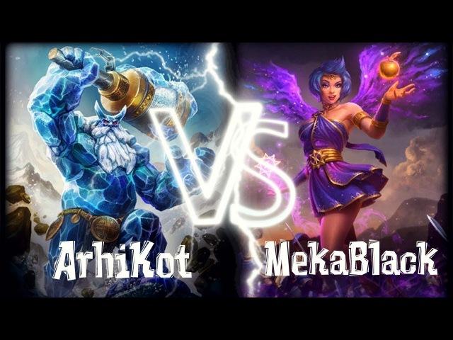 Smite Grandmaster | Ranked Duel 1vs1 | Ymir vs Discordia