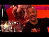 Will Smith Tries Jamie Oliver's Christmas Negroni The Graham Norton Show