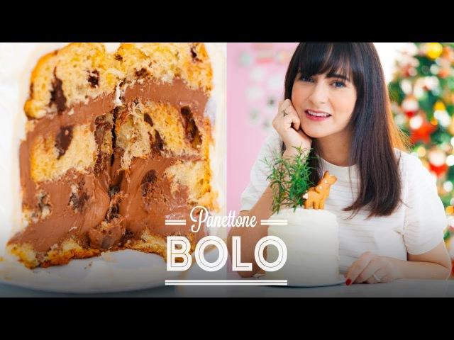 BOLO PANETTONE ALPINO RECHEADO COM CHOCOLATE 🍫 | DANI NOCE RECEITA