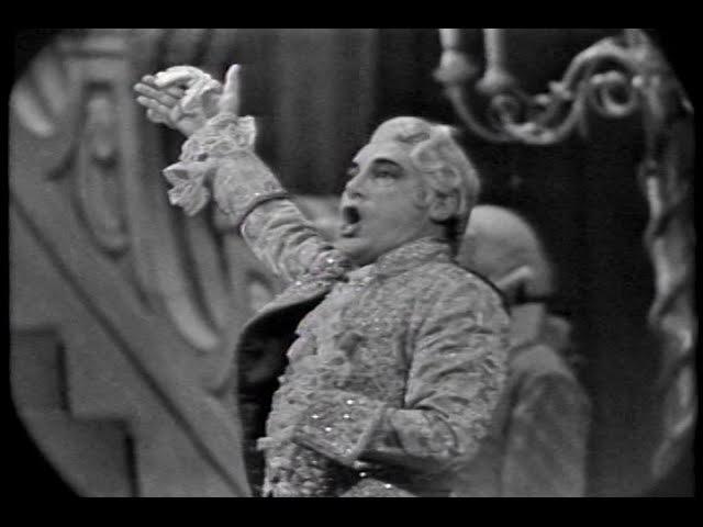Mario del Monaco - Colpito Qui M'avete... Un di all'azzurro spazio. LIVE 1961