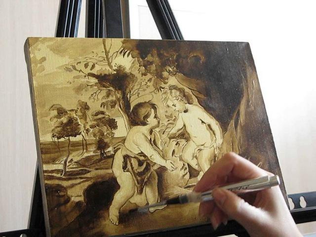 Уроки живописи маслом.Часть 3.Копия Рубенса