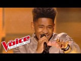 Justin Timberlake Can't stop the feeling Lisandro Cuxi The Voice France 2017 Blind Audition