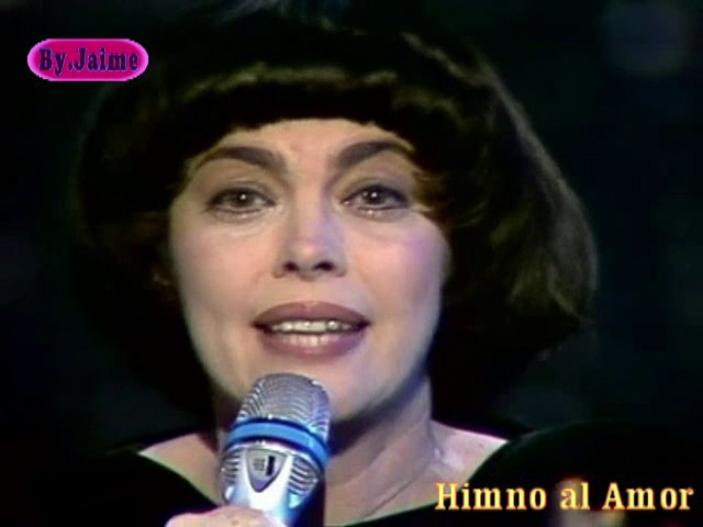 Mireille Mathieu. Himno al Amor,(en español).