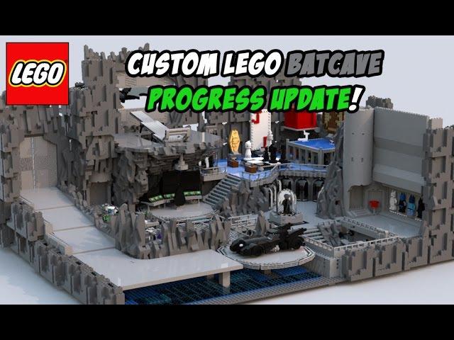 Custom Lego Batcave Progress Update (March 2017)!