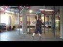 Свинговое вырывание Бруно Юста - гиря 61 кг. 'Bruno Joost dead muscle swing' - 61kg kettlebell