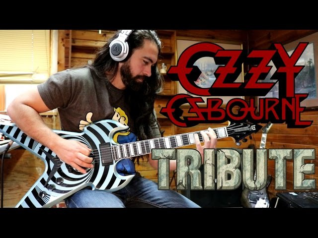 CRAZY TRAIN - Ozzy Osbourne - COVER TRIBUTE byWarleyson Almeida