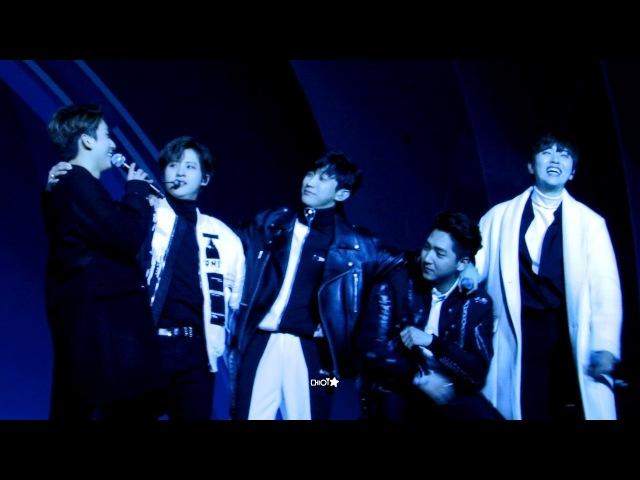 [180215] B1A4 평창 헤드라이너쇼 5 - 잘자요 굿나잇 (진영 focus)