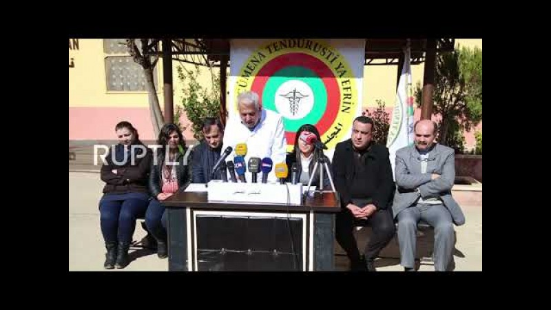 Syria: Afrin doctors plea for help following alleged chemical attack