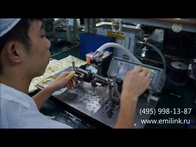 Производство мультиплексоров DWDM стыковка