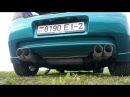 Mazda 323f ba 1.5 раздвоенный выхлоп звук ч.2