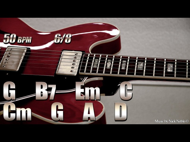 Slow Classic Ballad Backing Track G Major
