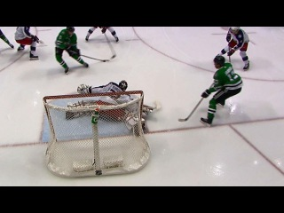 Bobrovsky reads play perfectly to rob Stars' Hamhuis blind