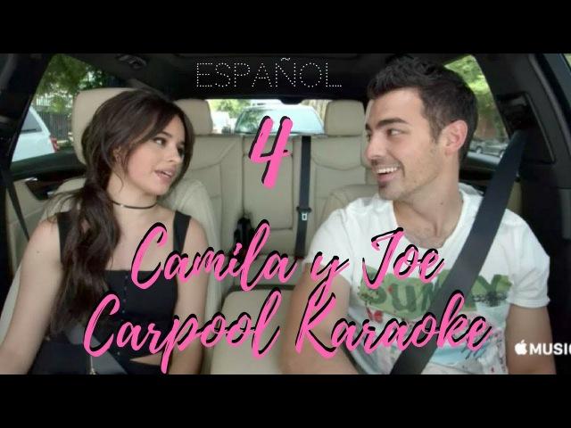 Carpool Karaoke with Camila Cabello and Joe Jonas Español 4
