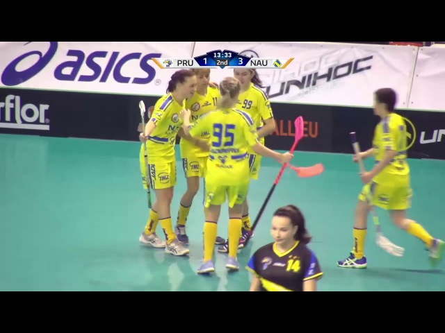 Наука САФУ Европа EFC 2017 Highlights SK 98 Pruske Nauka SAFU NT Флорбол фс2017 Floorball IFF