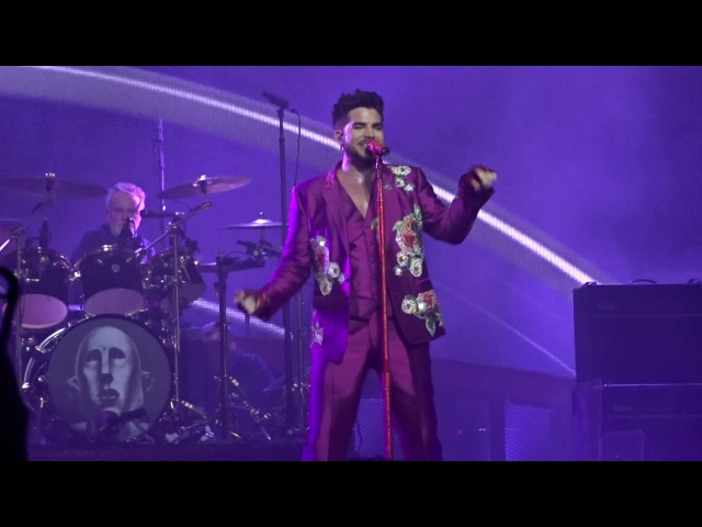 Queen Adam Lambert Don't Stop Me Now @ SSE Arena Wembley London 15.12.2017