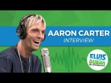 Aaron Carter Opens Up About Negative Comments on Social Media Elvis Duran Show - YouTube