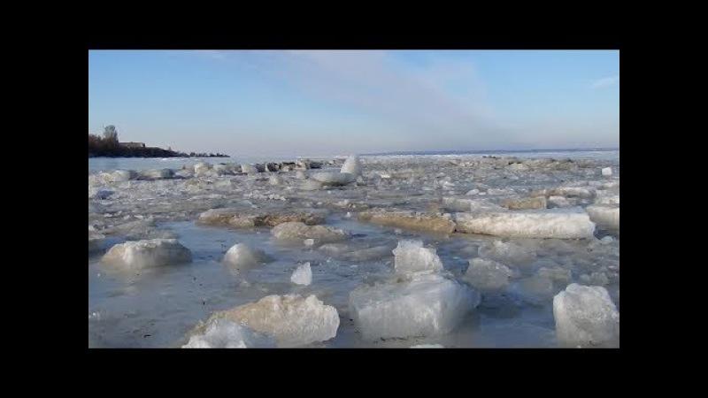 Зимний Днестровский лиман.Часть1./ Winter Dnestrovskiy firth. Part1.