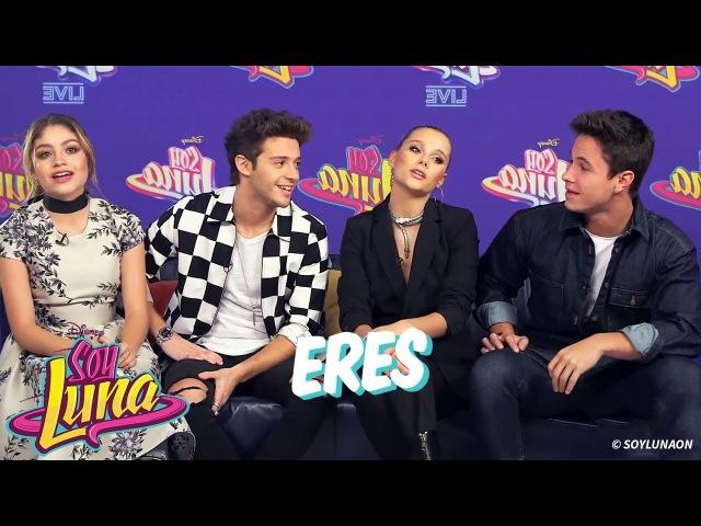 Los chicos de Soy Luna live Cantan Eres acapella en Conferencia de Francia