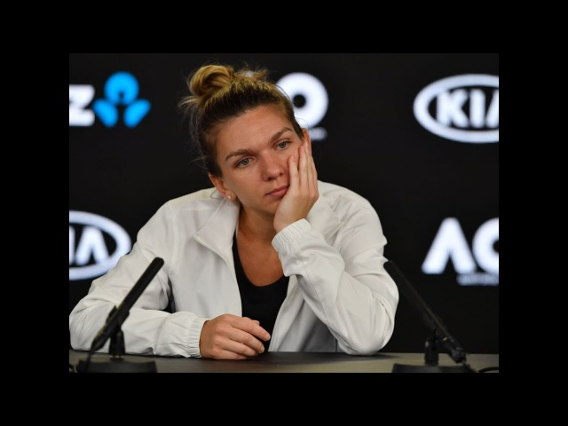 2018 Australian Open press conference Halep 'I was ready mentally but not physically'
