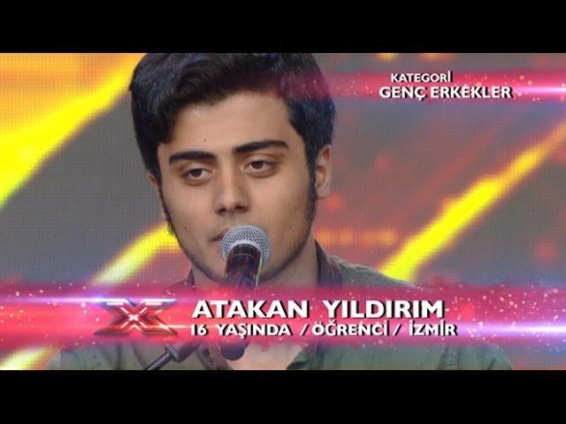 Atakan Yıldırım - Söyle Performansı - X Factor Star Işığı
