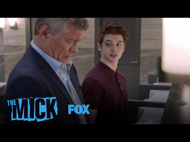 Chip Tracks Down His Dad In The Men's Room | Season 2 Ep. 9 | THE MICK