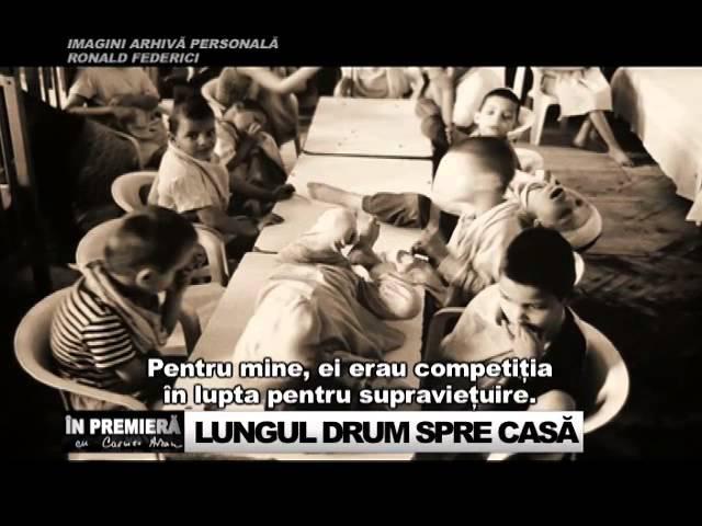 LUNGUL DRUM SPRE CASA (1) - In premiera: Povestea lui Petrica, copilul adoptat de la Siret
