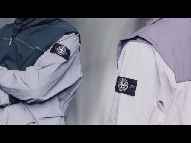 Stone Island SS'018_ Garment Dyed Plated Reflective With NY Jersey-R