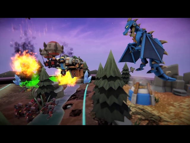 Skyworld - Launch Trailer [VR, HTC Vive, Oculus Rift, WMR]