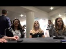 CWTV INTERVIEW from The Flash LoT DCinDC2018 Candice Patton, Caity Lotz, Danielle Panabaker