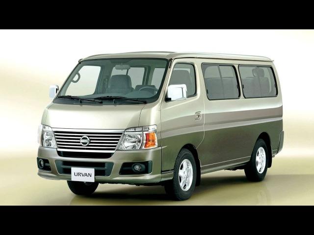 Nissan Urvan Bus E25 '2007–