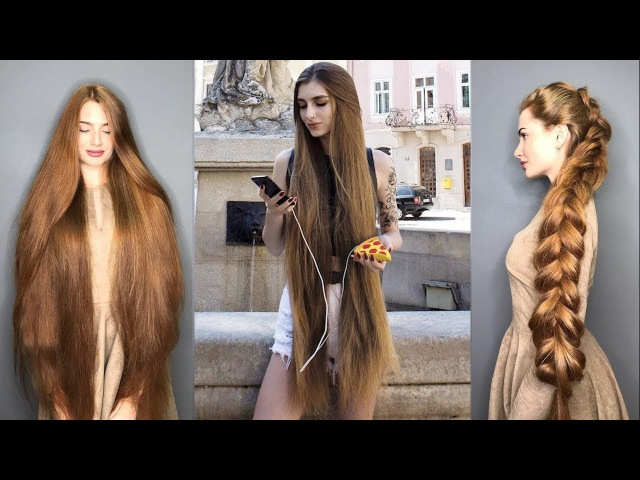 Real Life Rapunzels | Extremely Long Hair Girls of Instagram and Musical.ly