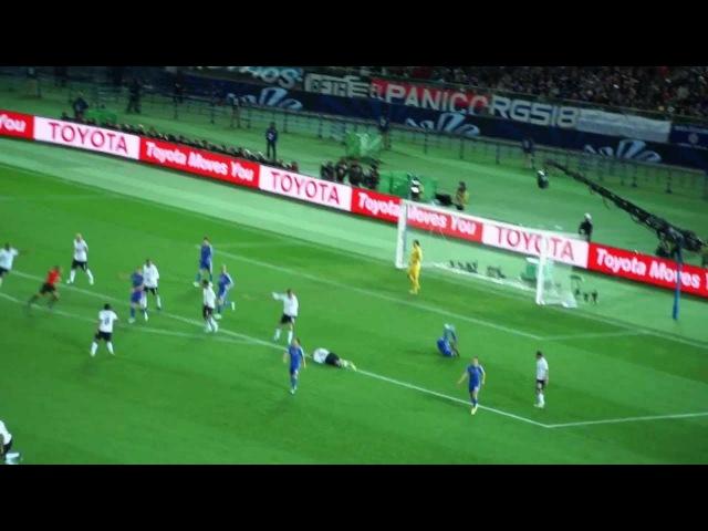 チェルシーFC F・トーレス 決定的シーン。 (COR vs CHE 16.12.2012)