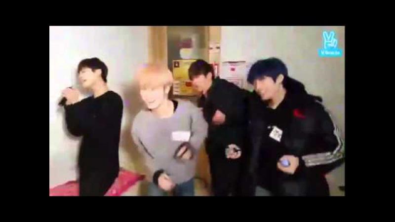 LEE GEON singing Ooh Ahh 하게 (Twice)
