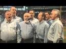 Blue of A Kind sing Star Spangled Banner at Fenway Park