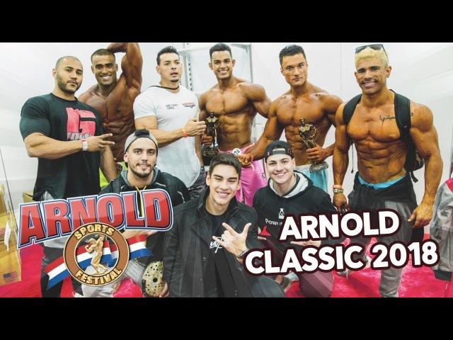 ARNOLD CLASSIC OHIO 2018 | BRASIL CAMPEÃO 🏆ft. Shevi e Rey Physique