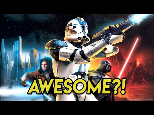 Why Was Star Wars: Battlefront 2 SO AWESOME?! (Classic, 2005)