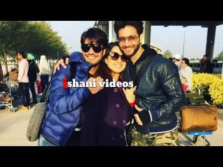Arjun Bijlani Alisha Panwar and vineet in Manali shooting for Ishq mein mar jawa