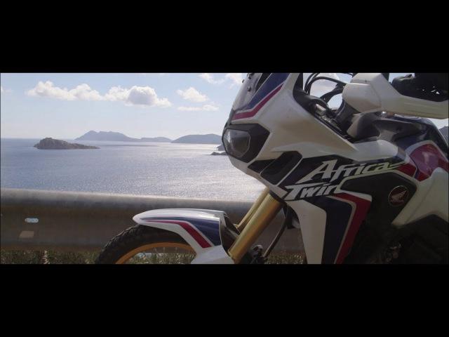 Honda Africa Twin True Adventure Sardegna Aprile 2016