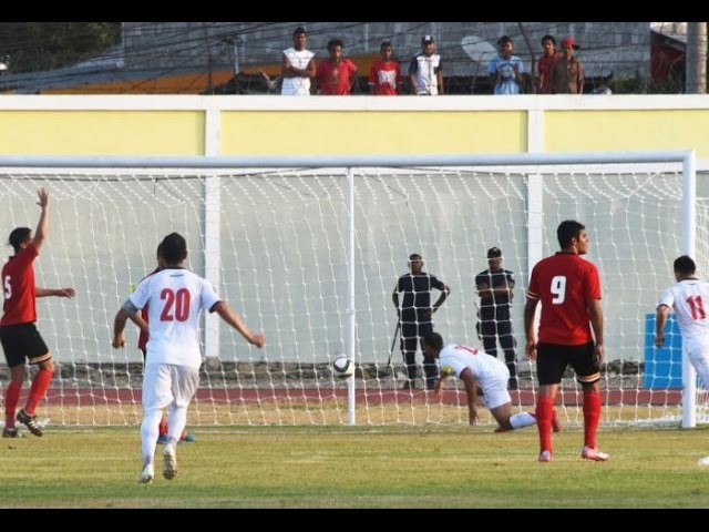 Timor Leste vs Palestine 2018 FIFA WC Russia AFC Asian Cup UAE 2019 (Qly RD 2)