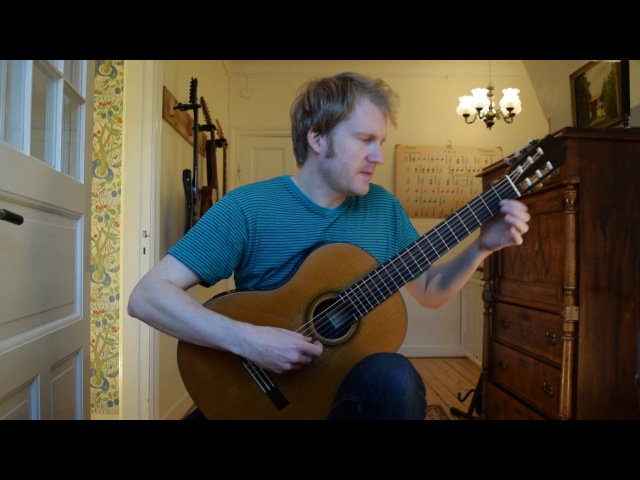 Sunburst - Andrew York (Acoustic Classical Guitar Fingerstyle Cover with tabs)