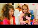 МИСС Кейти и её КОТЯТА Катя посадила котенка в душ! Мама в шоке Мисс Кейти и Алис ...