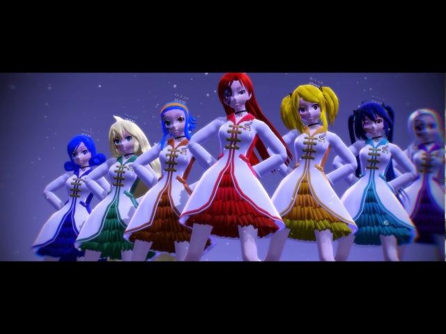 (MMD) Fairy Tail- Galaxias! (Model DL)