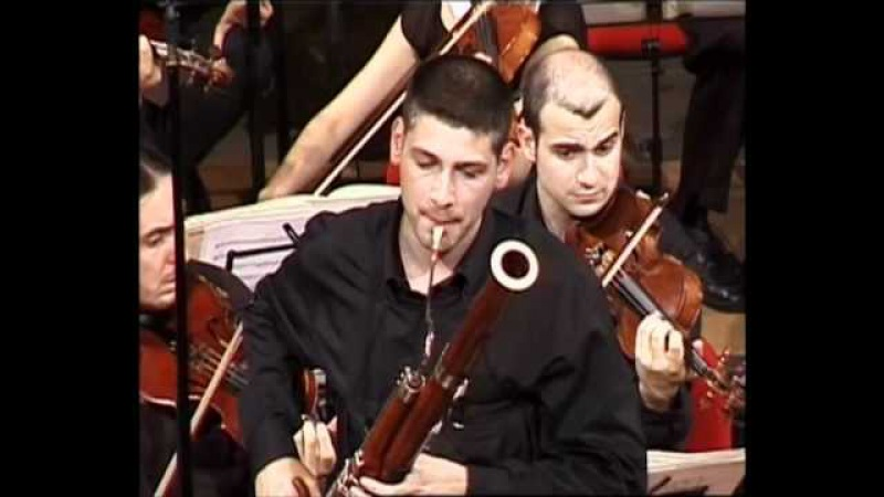 Mozart: Bassoon Concerto in B-flat major K 191, 2nd movement (Andante ma Adagio)