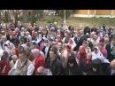 Великое освящение Спасского собора в Спасо Влахернском женском монастыре